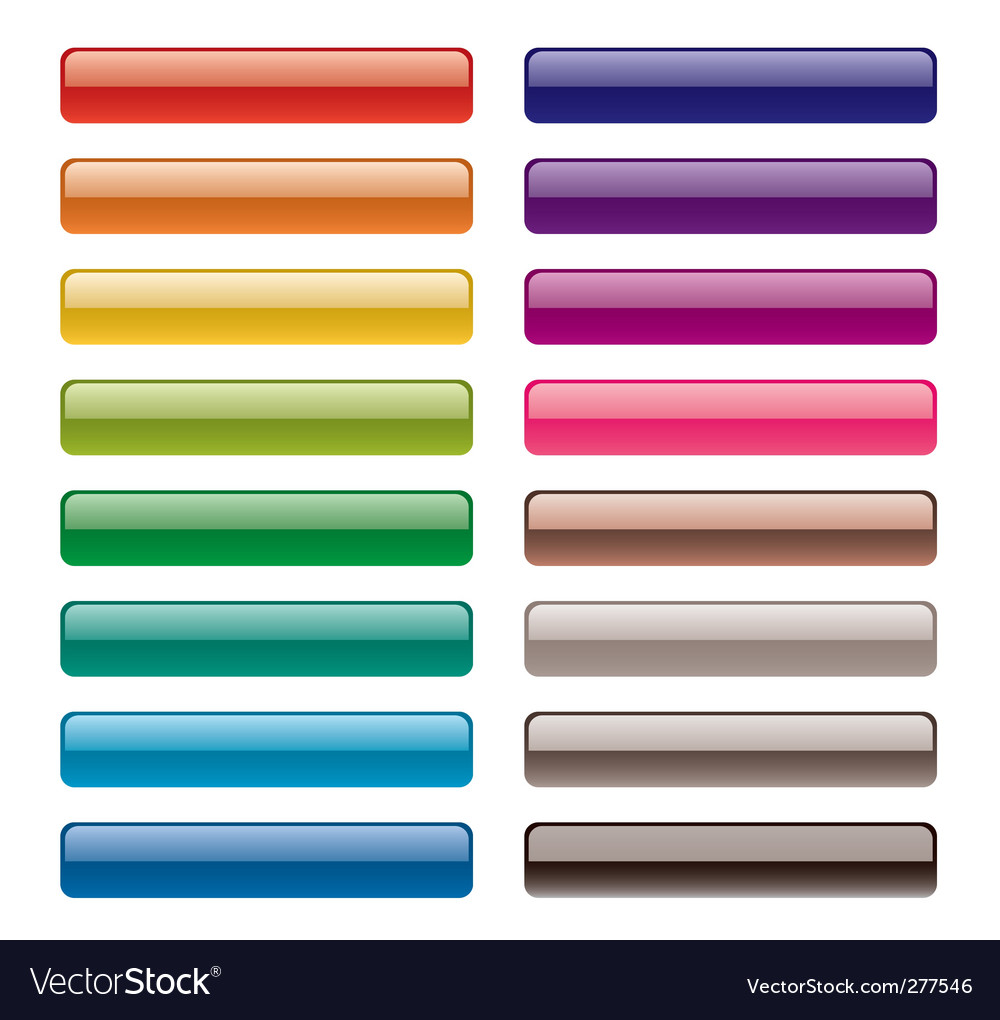 Long buttons vector | Price: 1 Credit (USD $1)