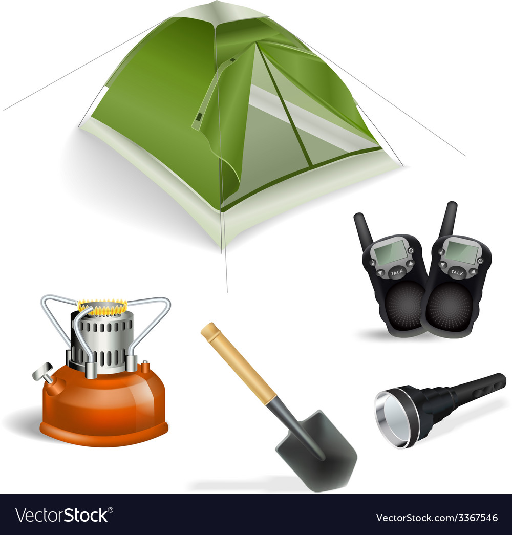 Tourist objects vector | Price: 3 Credit (USD $3)