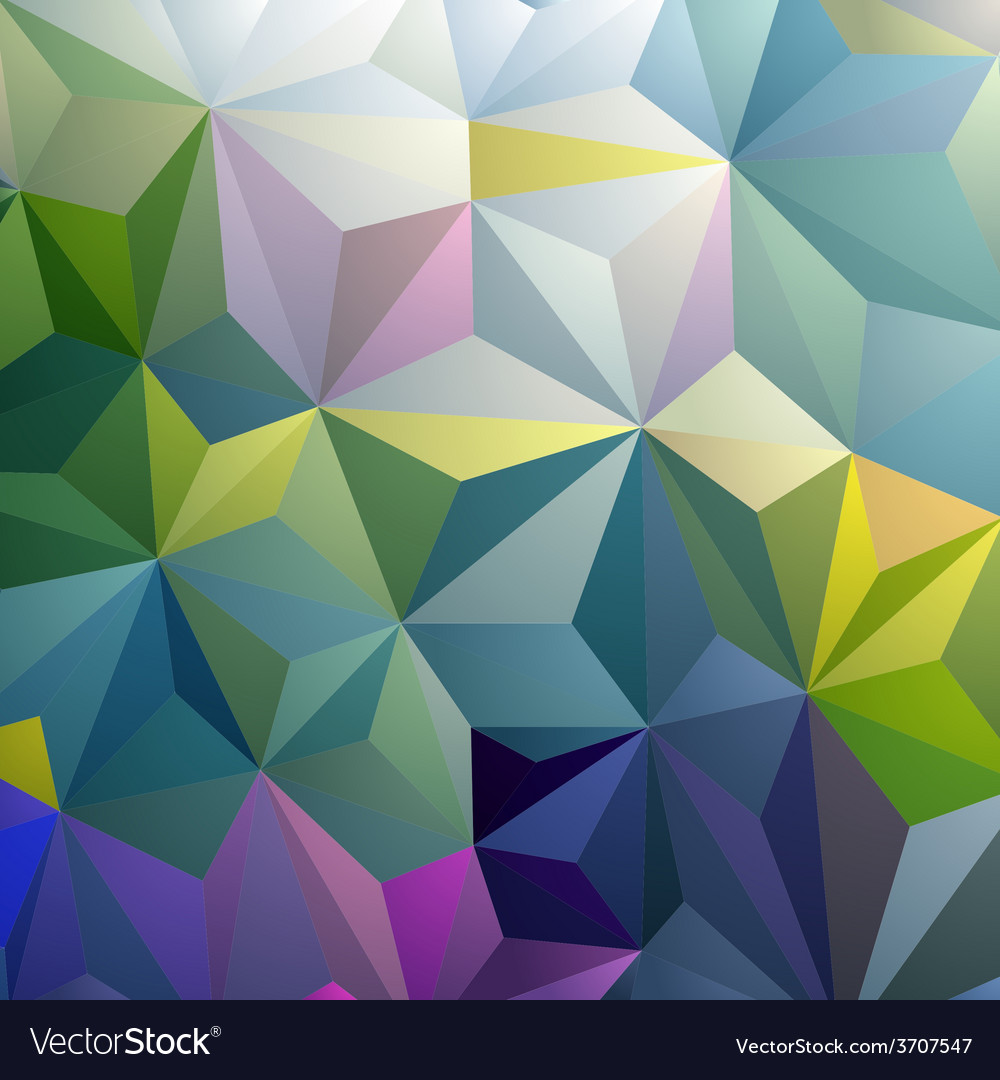 Colorful triangle abstract background vector | Price: 1 Credit (USD $1)