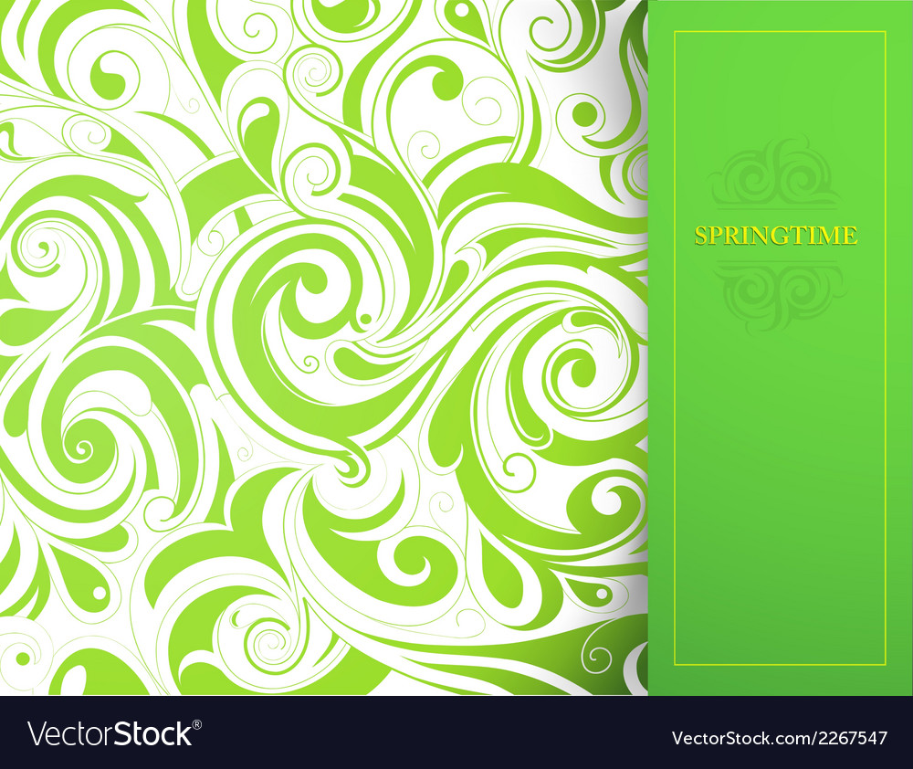 Greeting card with copy space vector | Price: 1 Credit (USD $1)