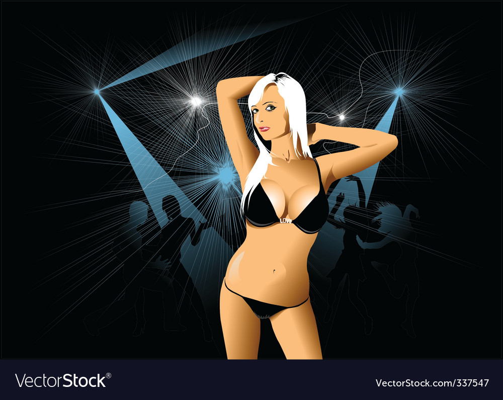 Nightclub vector | Price: 3 Credit (USD $3)