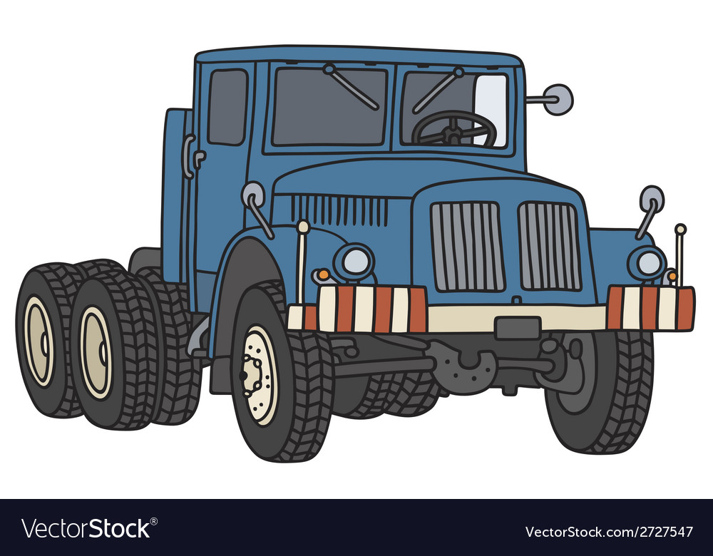 Old truck vector | Price: 1 Credit (USD $1)