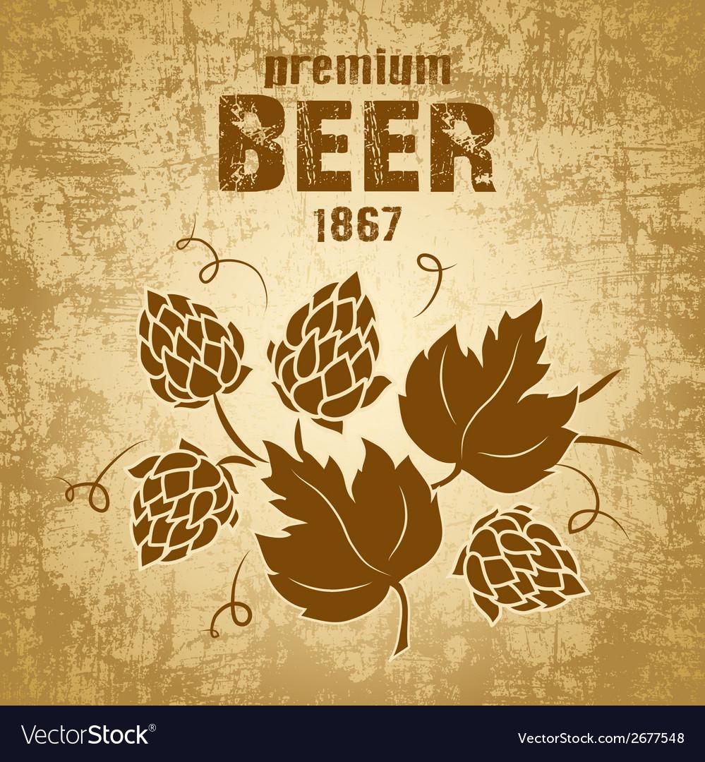 Beer brewery design vector | Price: 1 Credit (USD $1)