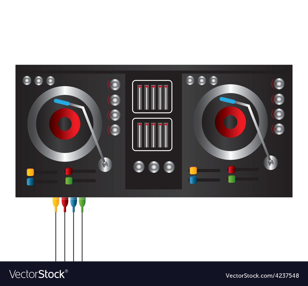 Dj design vector | Price: 1 Credit (USD $1)