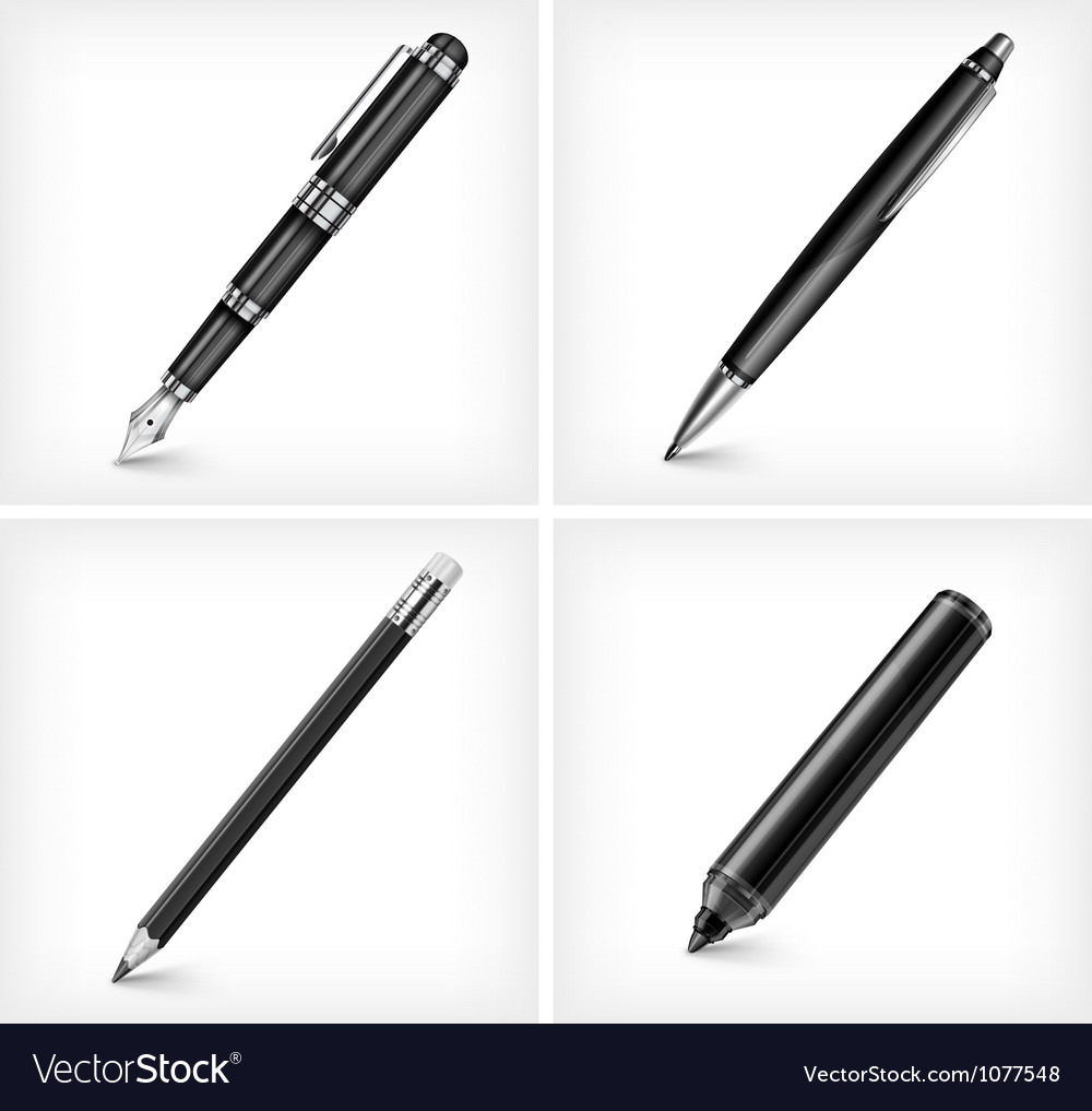 Drawing pen vector | Price: 3 Credit (USD $3)