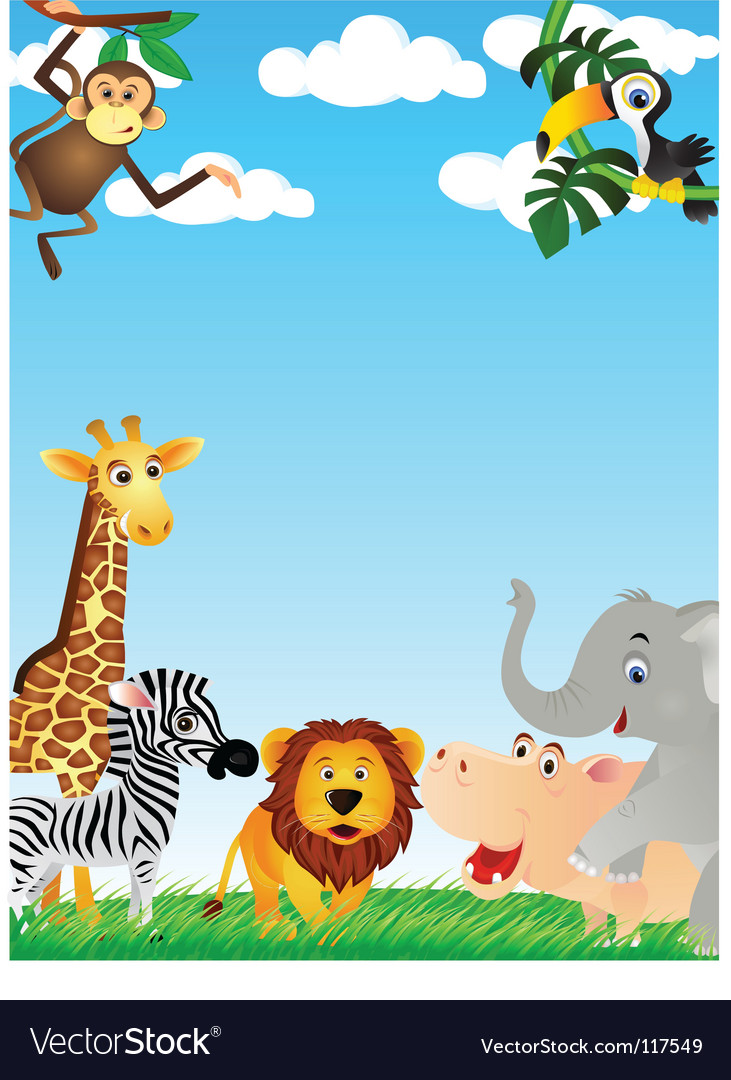 Animal cartoon vector | Price: 3 Credit (USD $3)