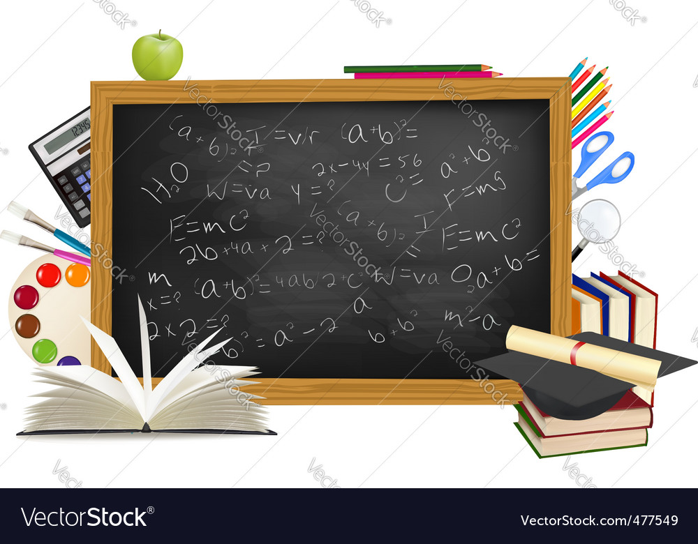 Background of back to school vector | Price: 3 Credit (USD $3)