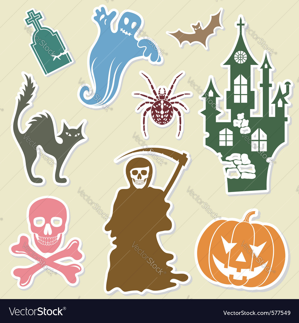 Big halloween collection vector   Price: 1 Credit (USD $1)