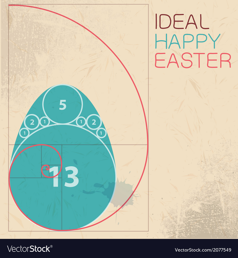 Easter card concept vector | Price: 1 Credit (USD $1)