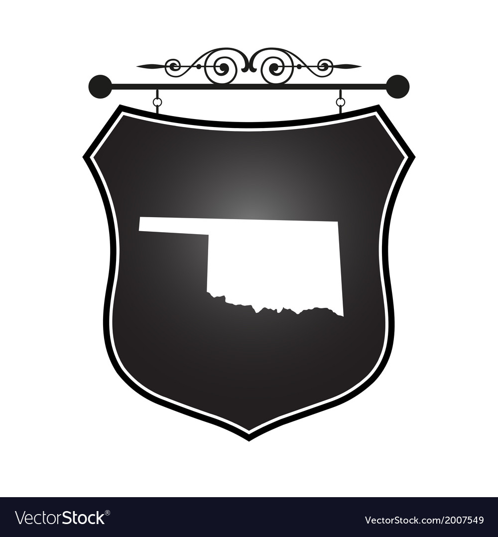 Oklahoma vector | Price: 1 Credit (USD $1)