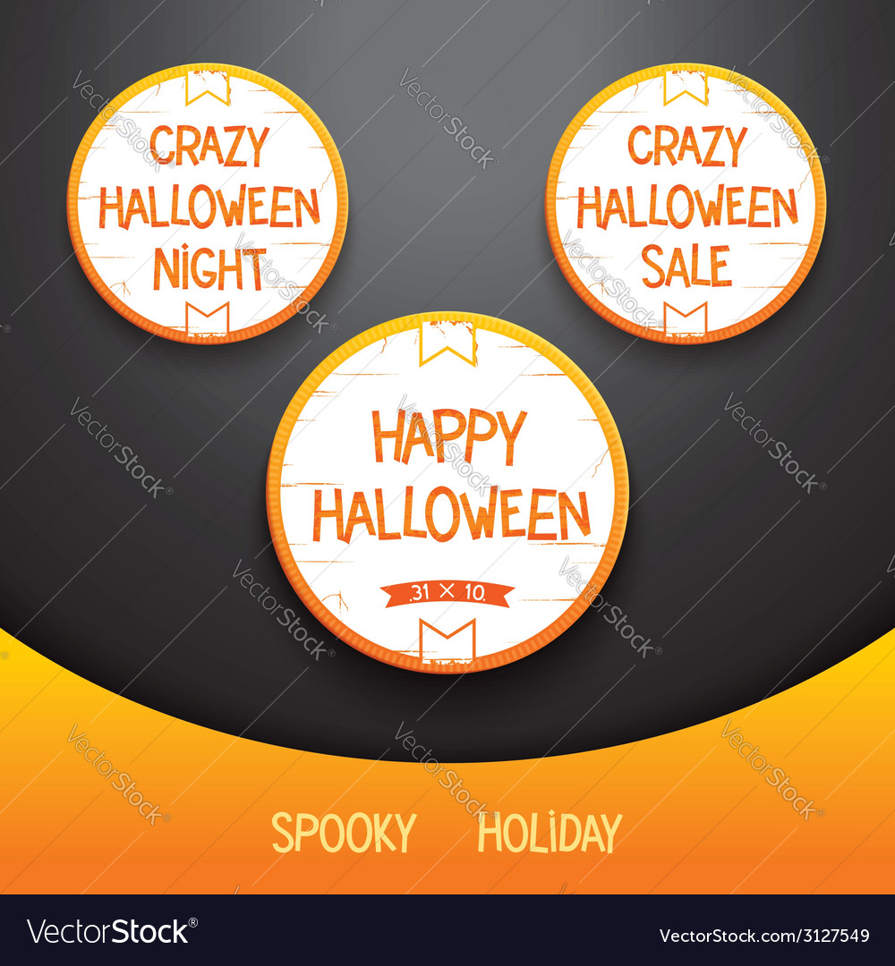 Spooky halloween holiday vector | Price: 1 Credit (USD $1)
