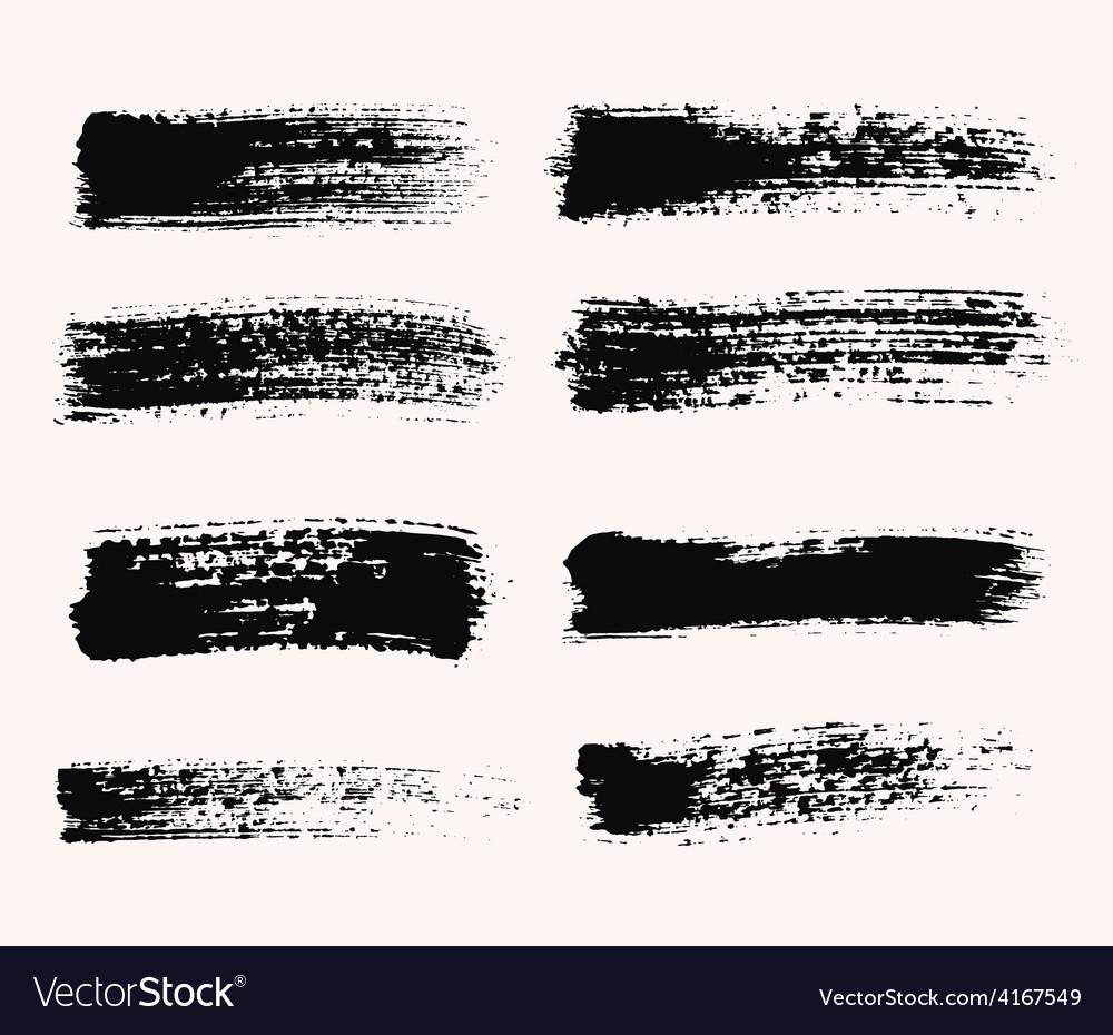 Wide brush strokes vector   Price: 1 Credit (USD $1)