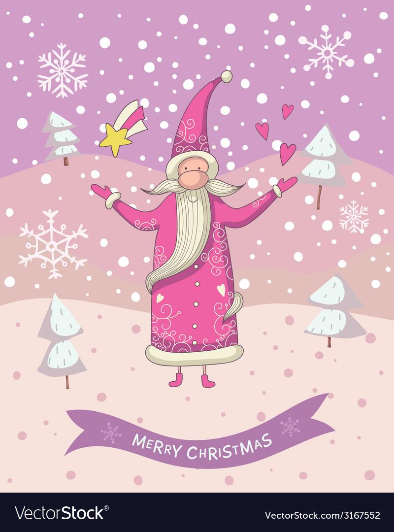 Christmas santa vector | Price: 1 Credit (USD $1)