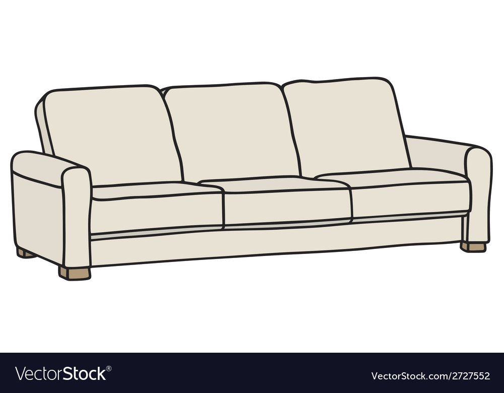 Couch vector | Price: 1 Credit (USD $1)