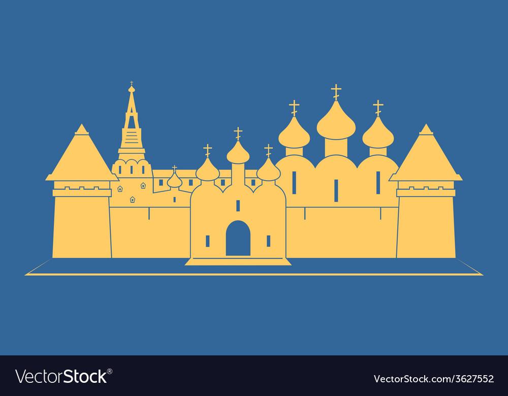 Monastery vector | Price: 1 Credit (USD $1)
