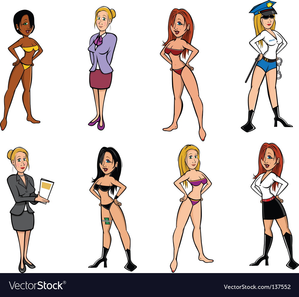 Sexy women vector | Price: 3 Credit (USD $3)