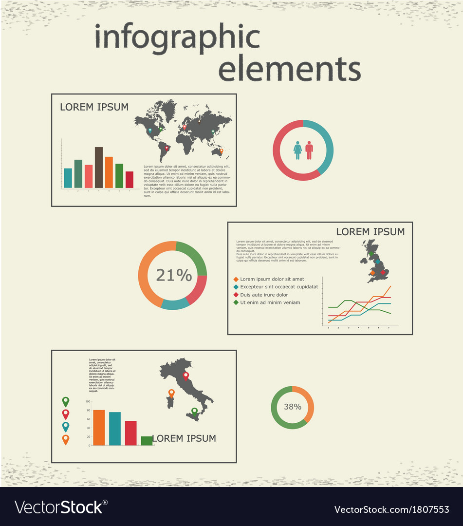 Infographic 1 vector | Price: 1 Credit (USD $1)