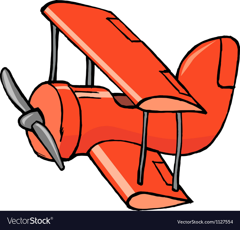Toy airplane vector | Price: 1 Credit (USD $1)