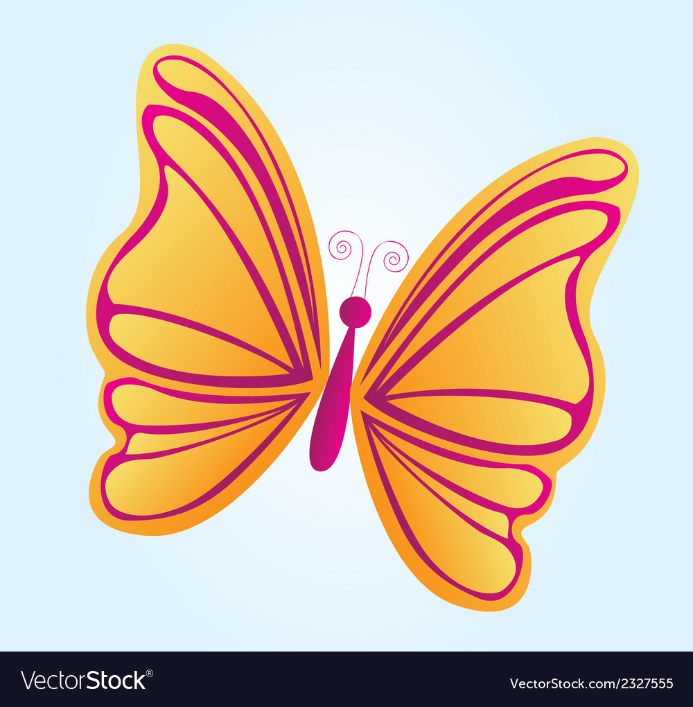 Beatiful butterfly vector | Price: 1 Credit (USD $1)