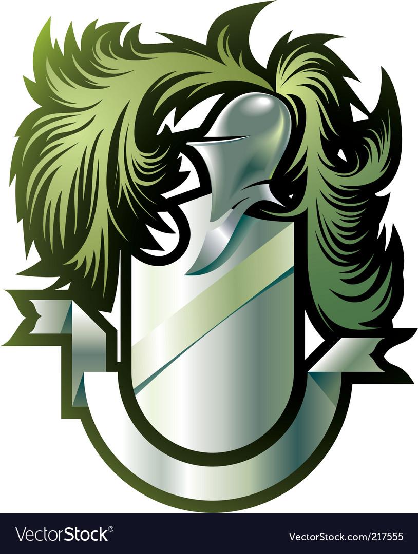 Heraldry emblem vector | Price: 3 Credit (USD $3)