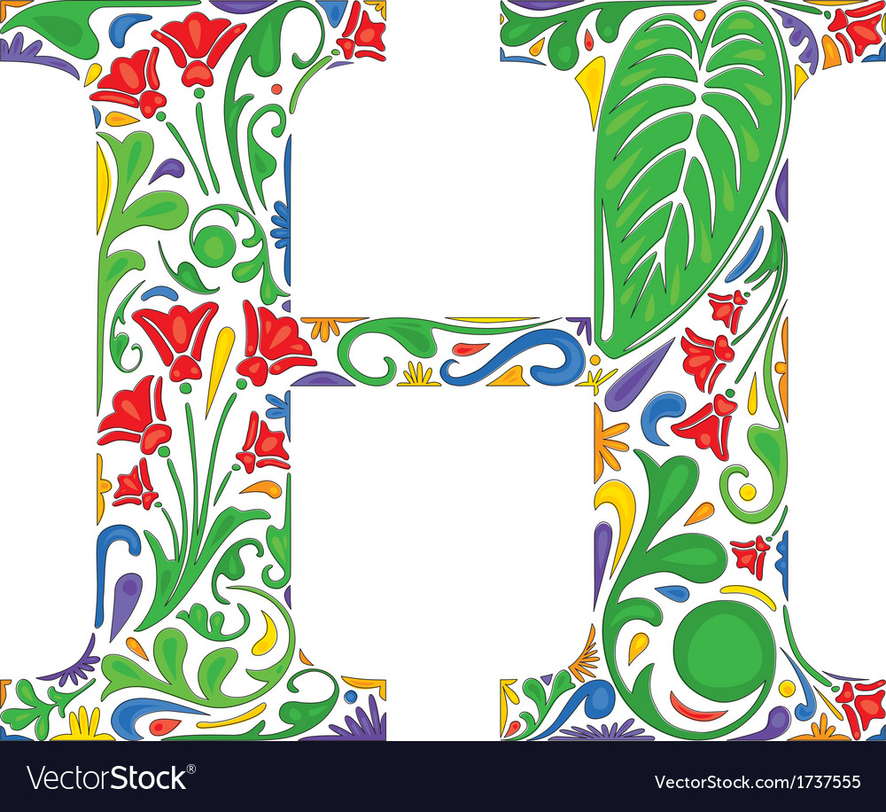 Letter h vector | Price: 1 Credit (USD $1)
