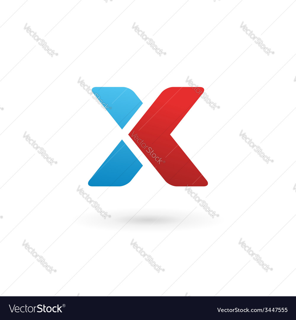 Letter x logo icon design template elements vector   Price: 1 Credit (USD $1)