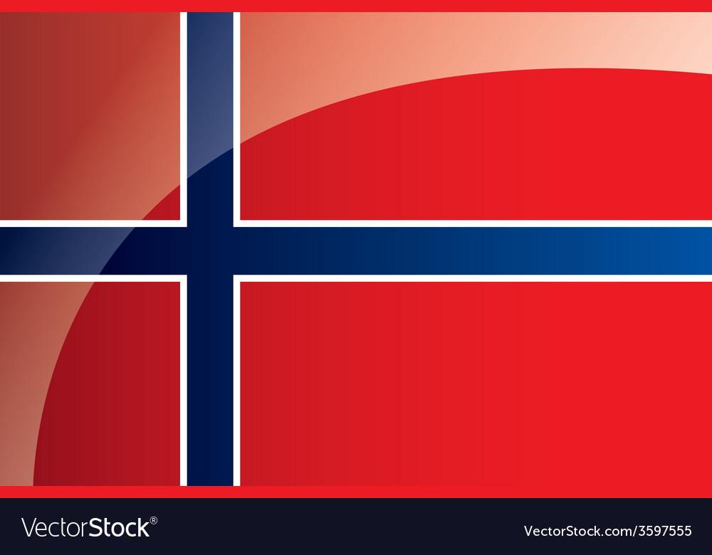 Norway flag vector | Price: 1 Credit (USD $1)