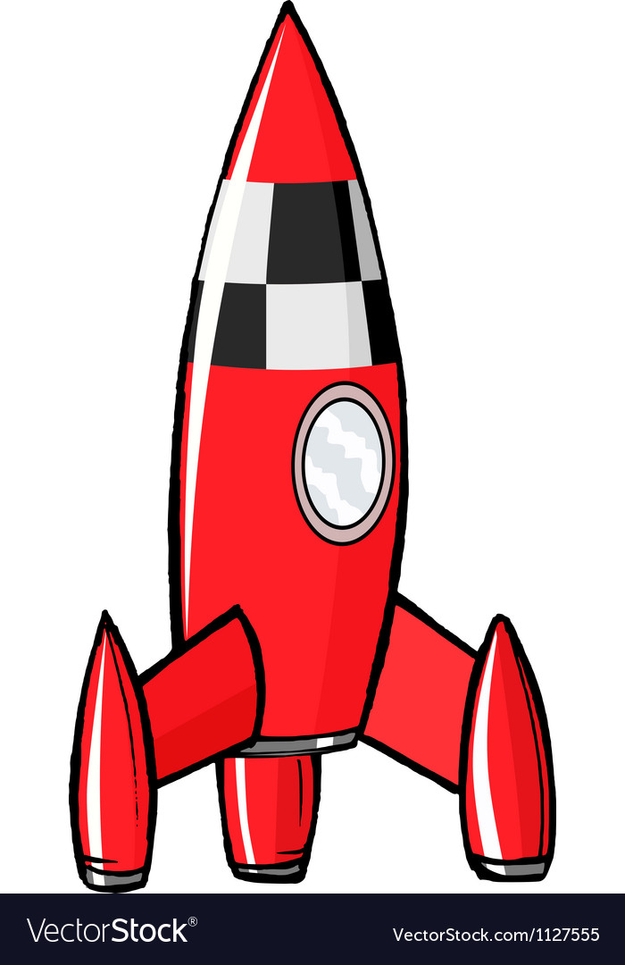 Toy rocket vector | Price: 1 Credit (USD $1)