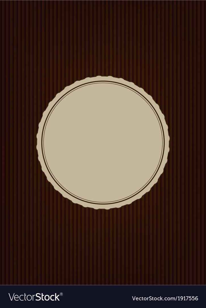 Brown creative cover vector | Price: 1 Credit (USD $1)