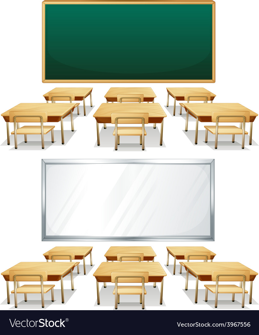 Classrooms vector | Price: 1 Credit (USD $1)