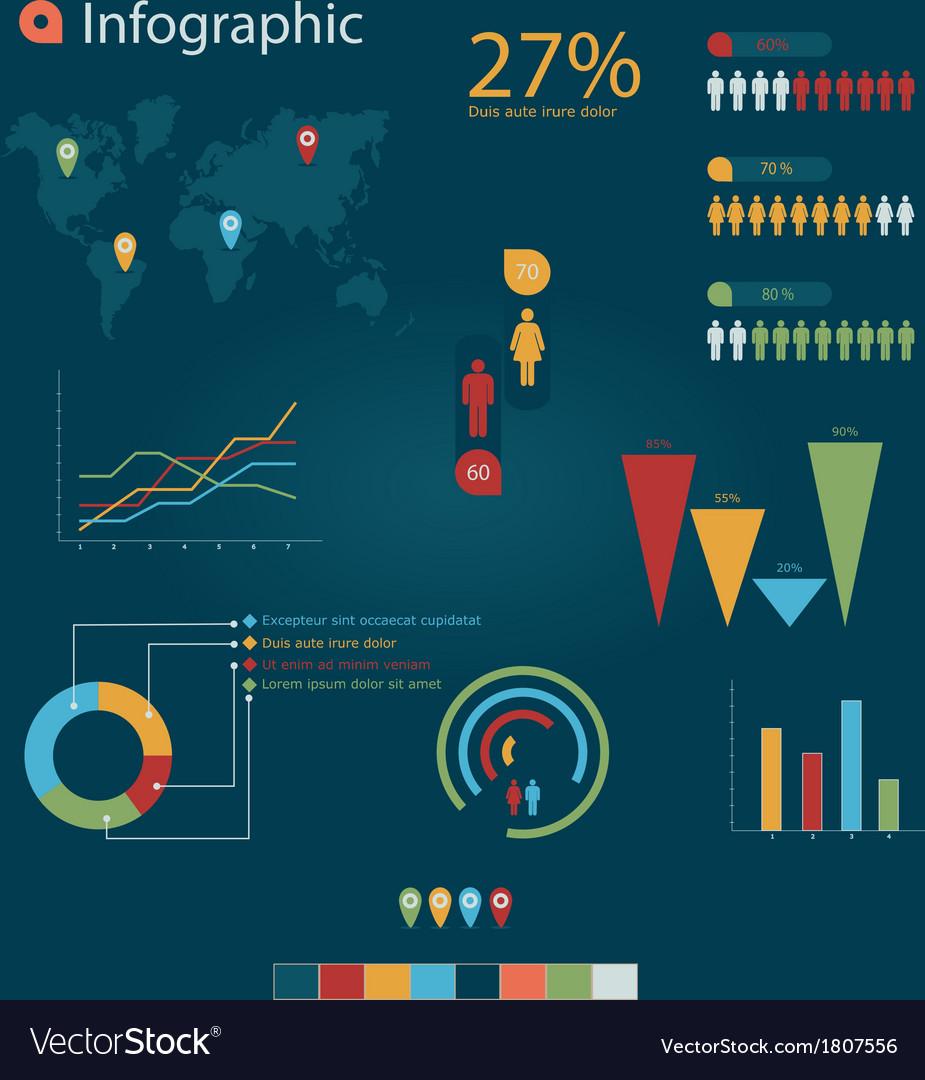 Infographic 4 vector   Price: 1 Credit (USD $1)