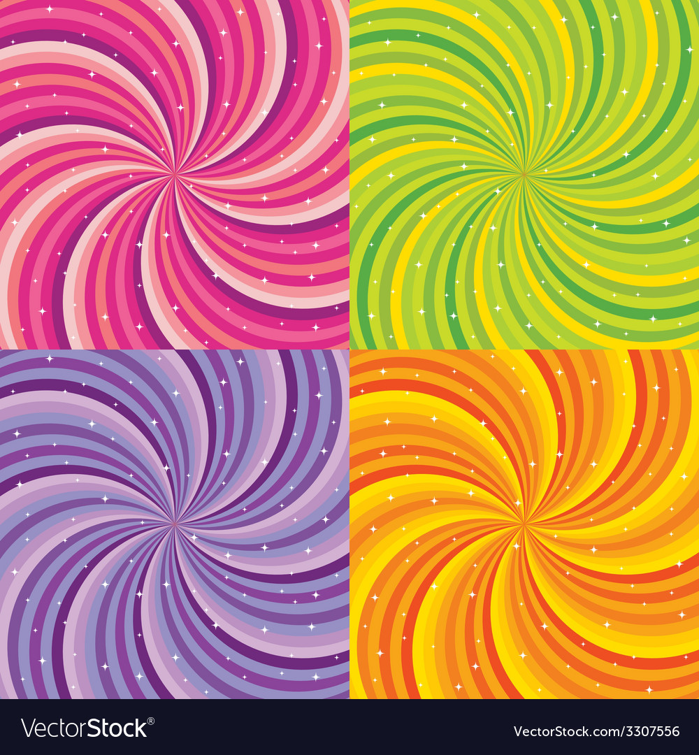 Shiny abstract background - orange green pink and vector | Price: 1 Credit (USD $1)