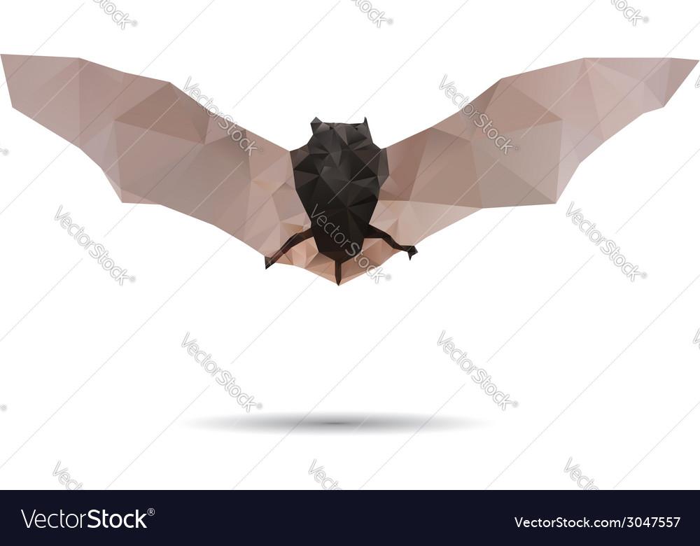 Bat abstract vector | Price: 1 Credit (USD $1)