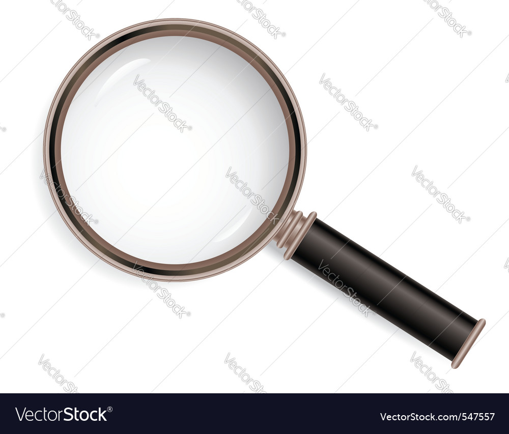 Magnifier glass vector | Price: 3 Credit (USD $3)