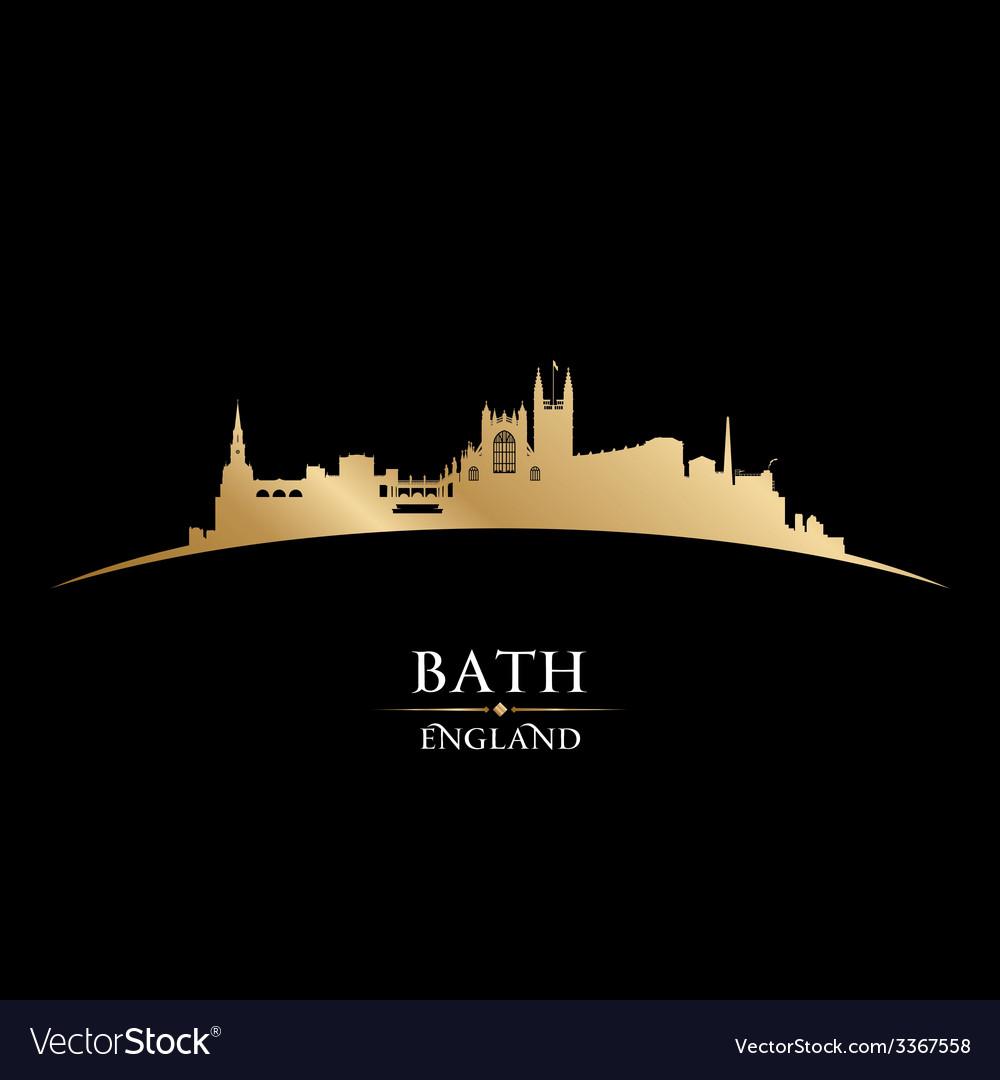 Bath england city skyline silhouette vector | Price: 1 Credit (USD $1)