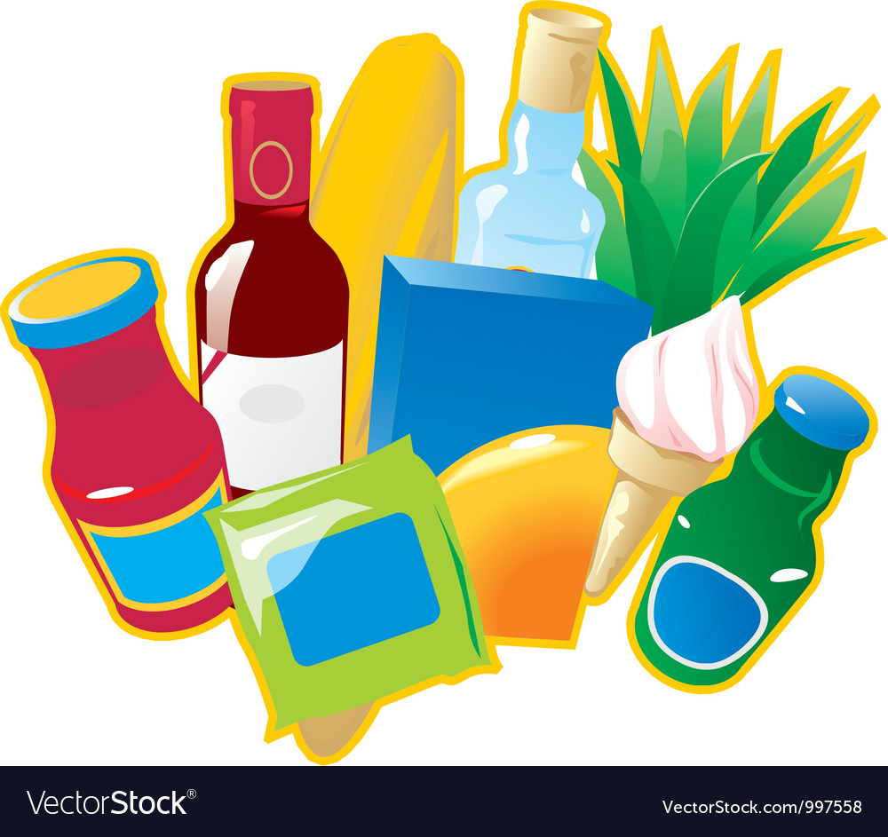 Foods and drinks vector | Price: 1 Credit (USD $1)