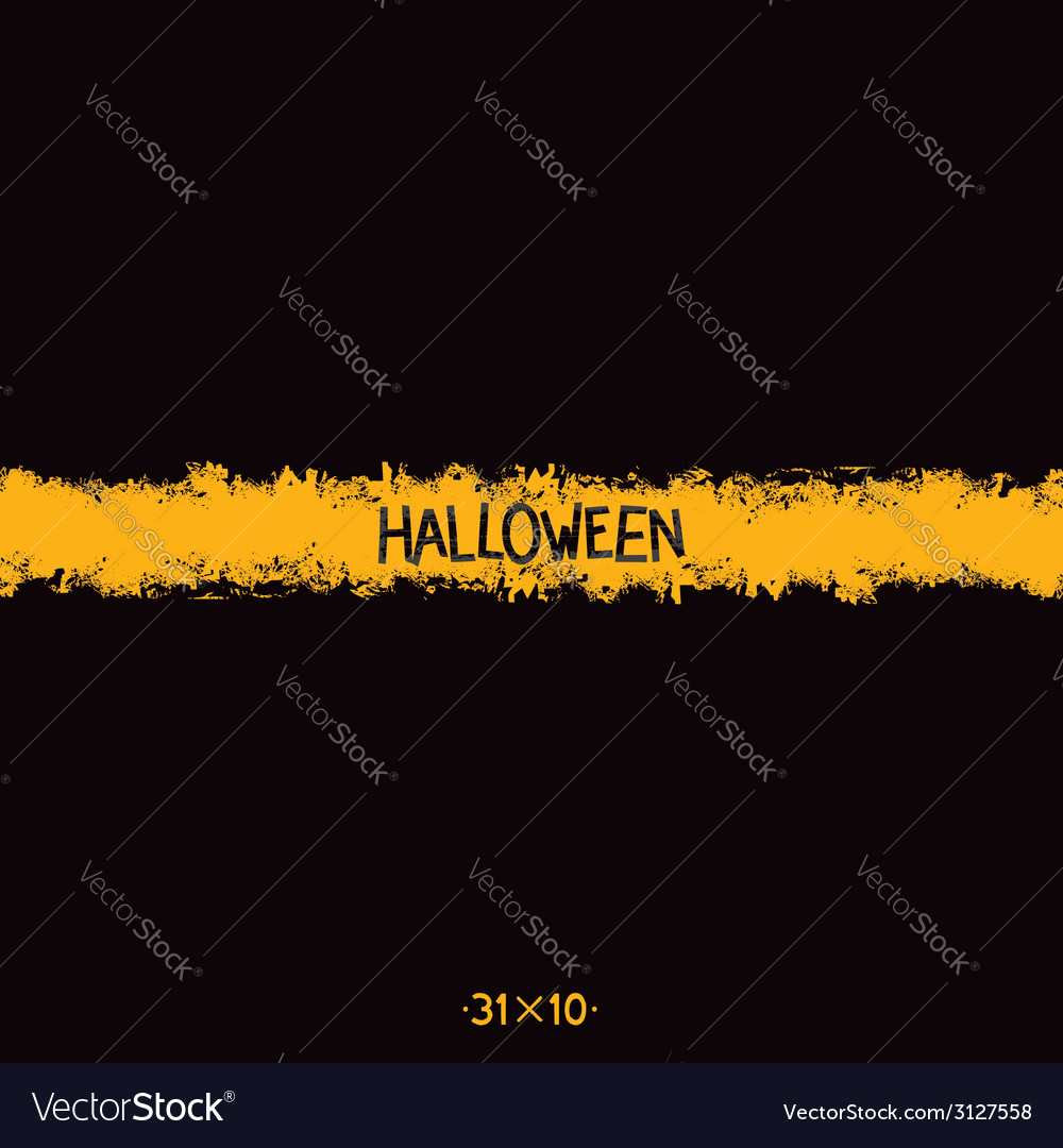Halloween grunge template vector | Price: 1 Credit (USD $1)