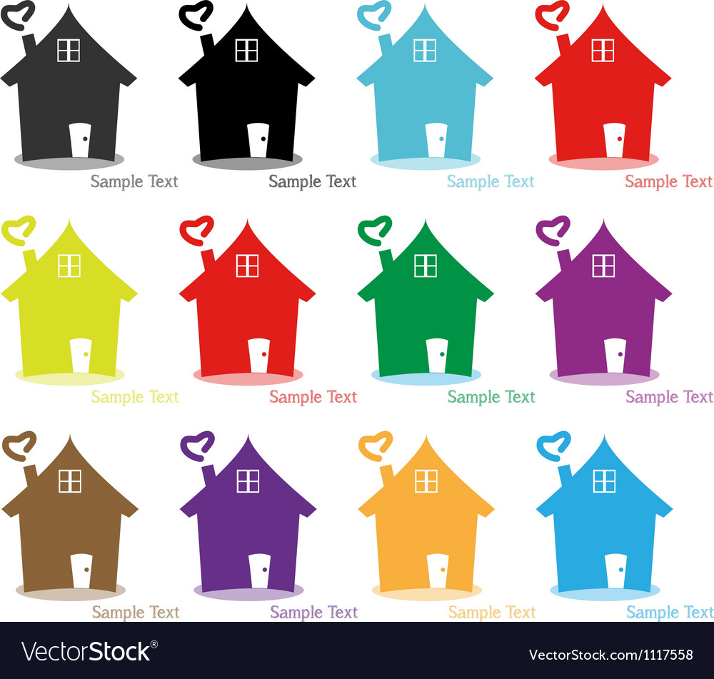 Set home logo for vector | Price: 1 Credit (USD $1)