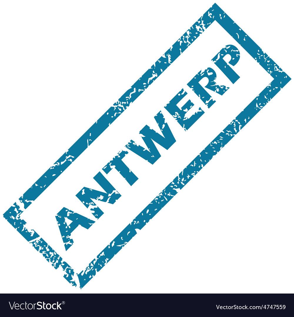 Antwerp rubber stamp vector | Price: 1 Credit (USD $1)