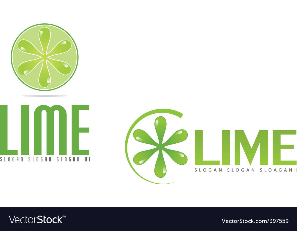 Lime logo vector | Price: 1 Credit (USD $1)