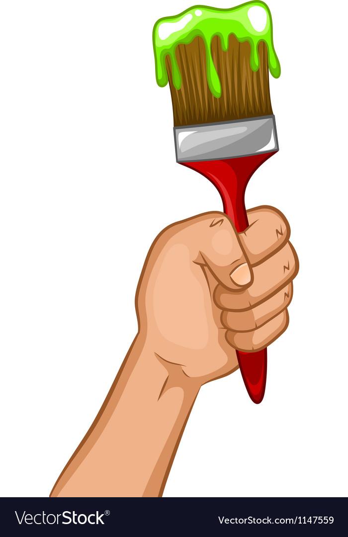 Paintbrush vector | Price: 1 Credit (USD $1)