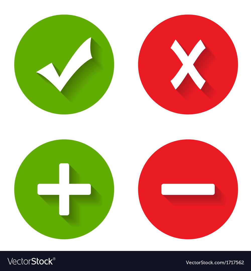 Check mark stickers vector | Price: 1 Credit (USD $1)