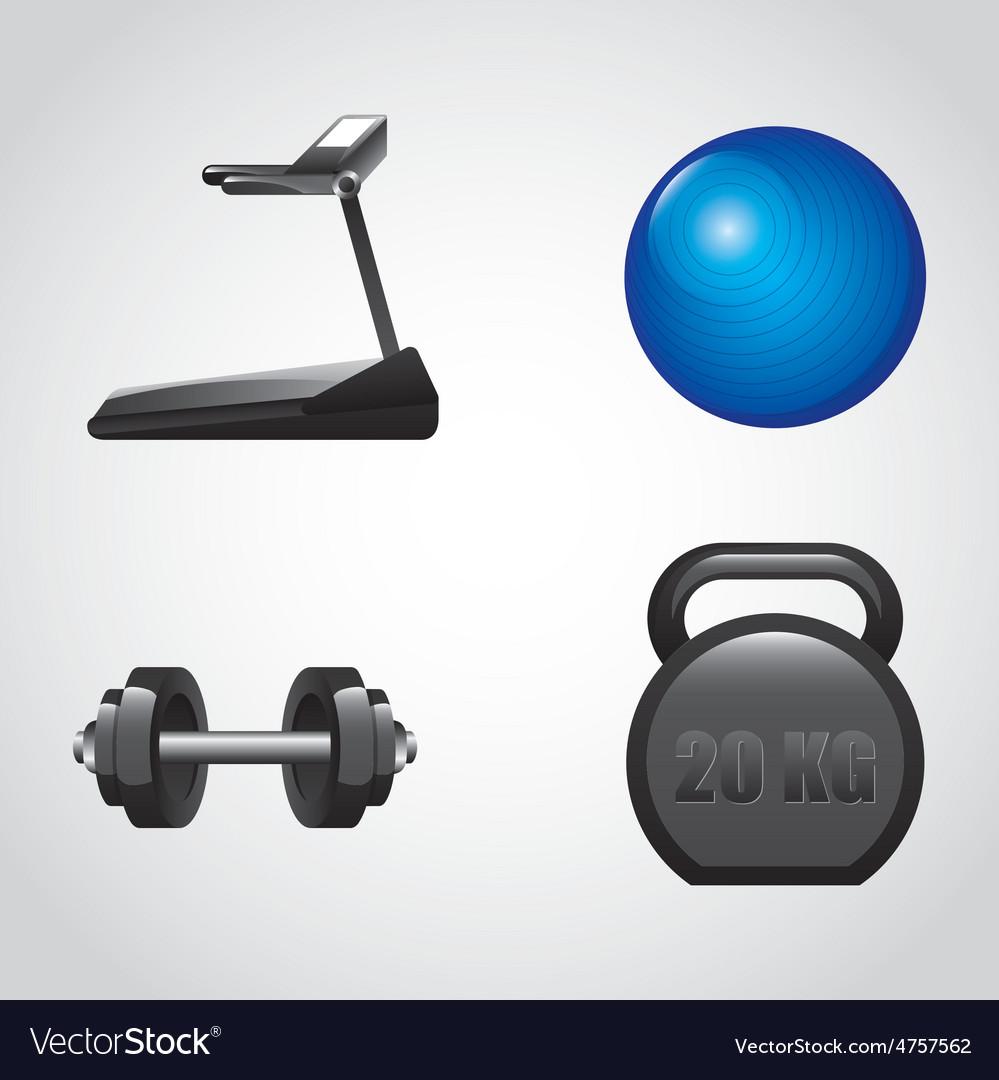 Gym icon vector | Price: 1 Credit (USD $1)