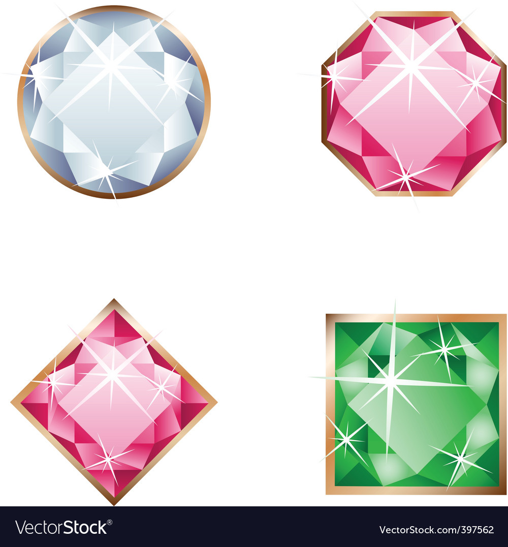 Set of jewel vector | Price: 1 Credit (USD $1)
