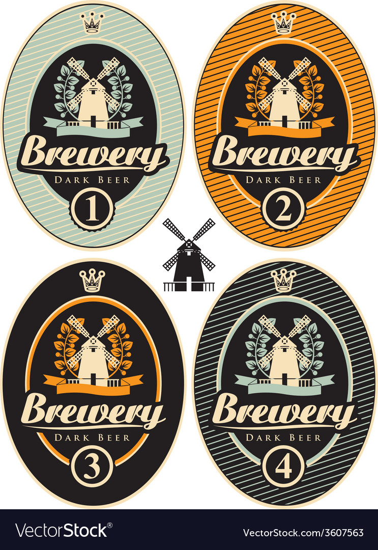 Beer label vector | Price: 1 Credit (USD $1)