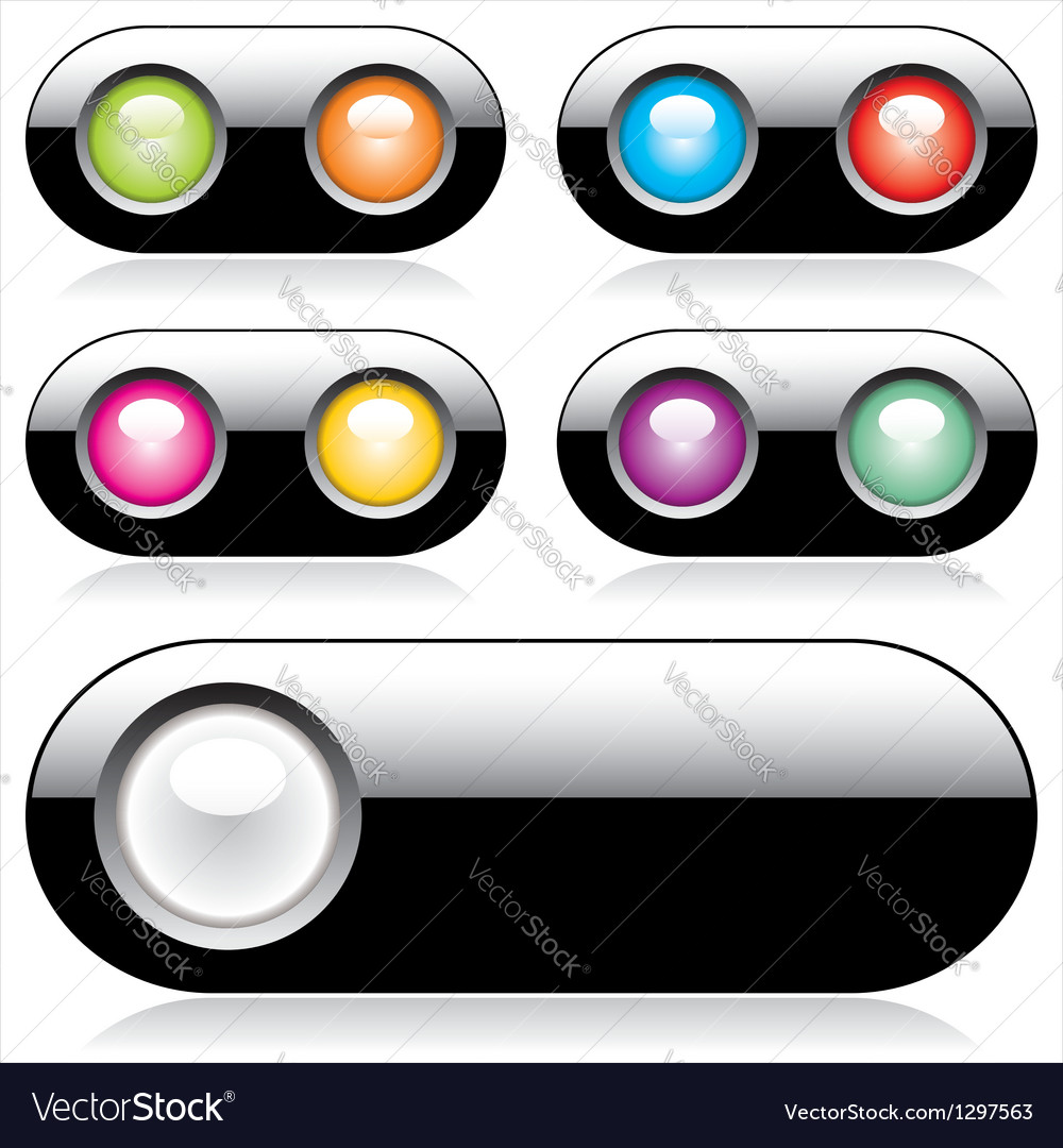Web buttons for website or app vector | Price: 1 Credit (USD $1)
