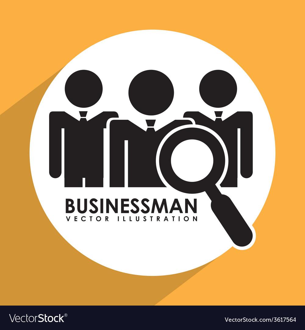 Businessman design vector | Price: 1 Credit (USD $1)