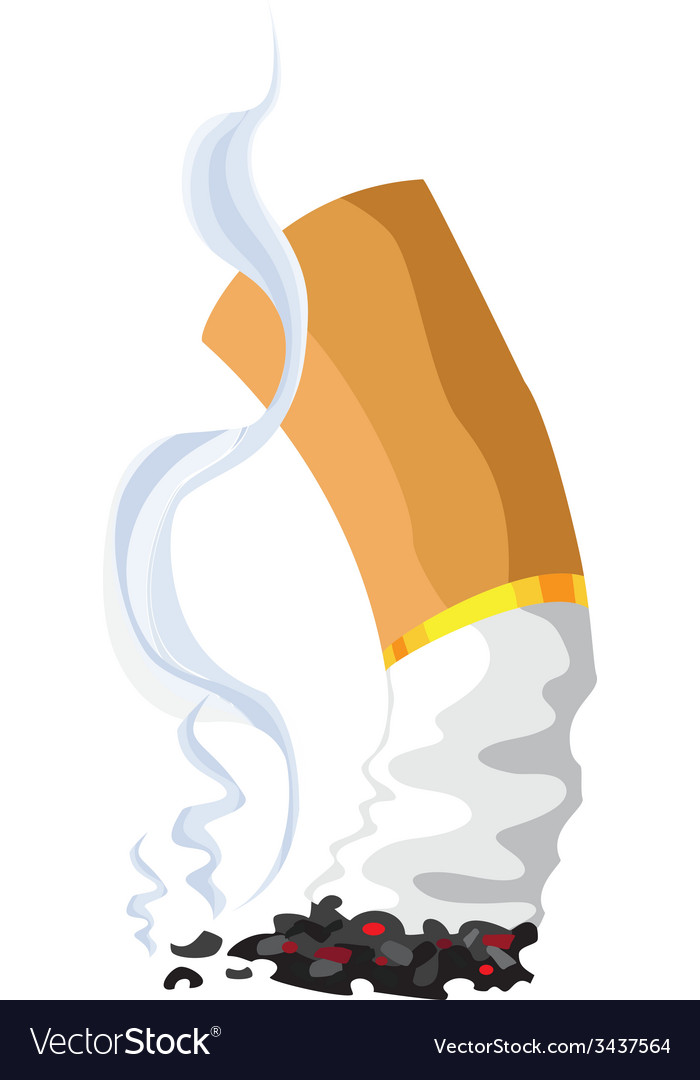 Cigarette vector | Price: 1 Credit (USD $1)
