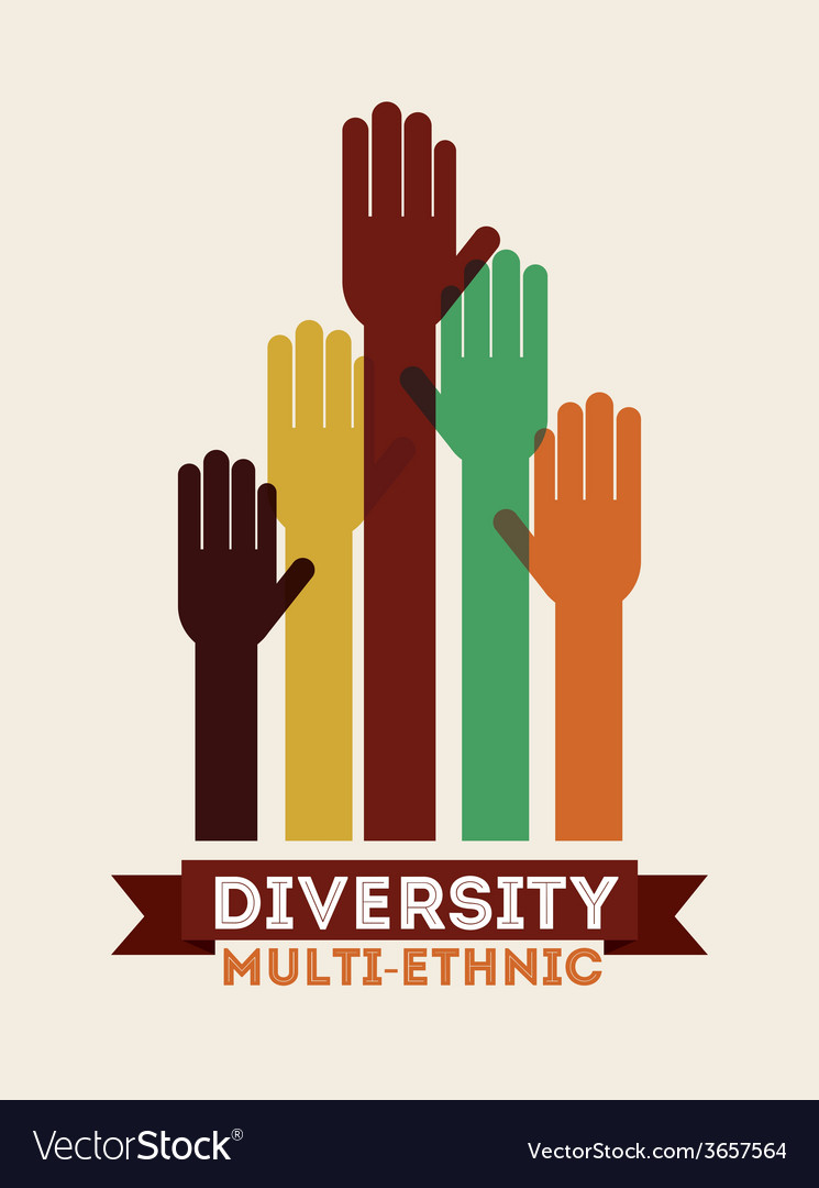 Diversity concept vector | Price: 1 Credit (USD $1)