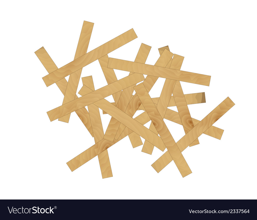 Wooden mess vector | Price: 1 Credit (USD $1)
